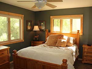 Master Bedroom on Main Floor
